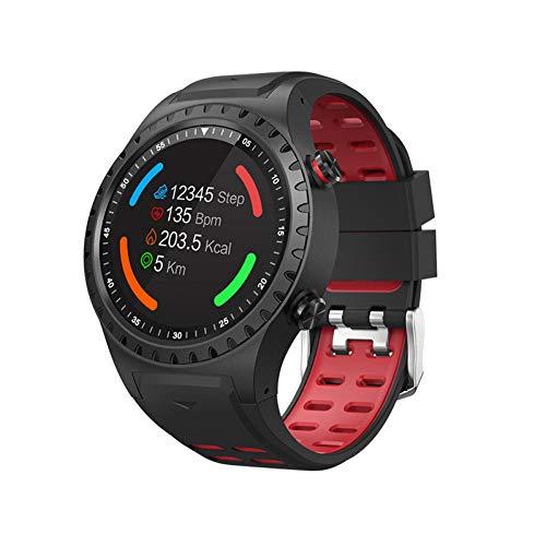 ZLOPV Fitness Armband GPS Smart Watch Anruf Multisportmodus Kompass Höhe Dail Call SIM-Karte Sport Farbbildschirm Männer Bluetooth -
