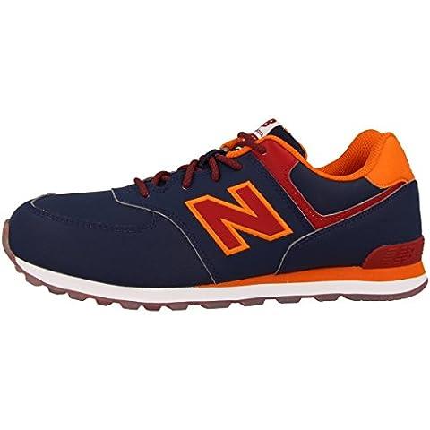 New Balance 574 navy/red,
