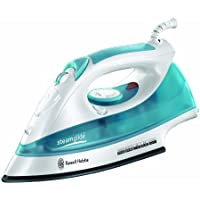 Russell Hobbs 15081 Steamglide Iron, 2400 W - White and Blue