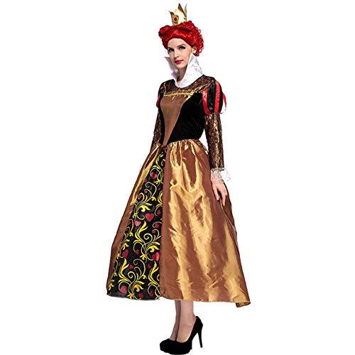 Poison Party Kostüm - AIYA Die Königin der Herzen COS-Kostüme Das Retro-Gericht kleidet Halloween Poison Queenswear