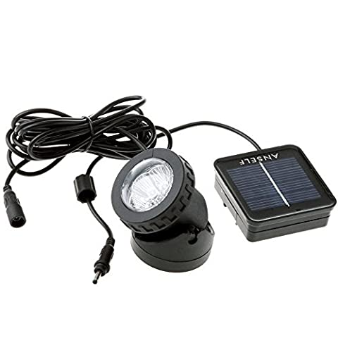 Anself LED Solar Power Light Outdoor Landscape Lighting Solar Energy Spotlight Waterproof Diving Light Excellent Lighting Components