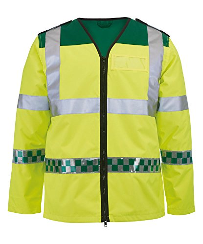 Alexandra al-nu94hy-l Ambulance langärmelige Weste, Uni, Größe L, Hi-Vis Gelb