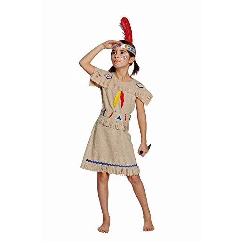 Imagen de karnevalstore24–disfraz infantil indios vestido de indio indios vestido pocahontas indios disfraz western indianerinkostüm disfraz del lejano oeste chica disfraces fasching