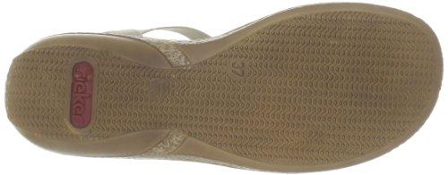 Rieker 62860-60, Sandali Donna Beige (beige (champiñón 60))