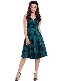 Voodoo Vixen Betty Boo Blue Kleid (Blue)