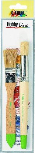 hobby-line-723014-pinselset-schablonieren