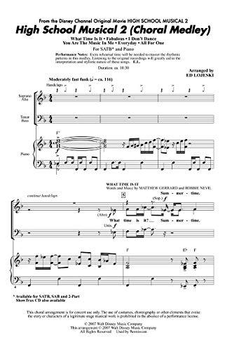 High School Musical 2 (Choral Medley) - Choir - CD