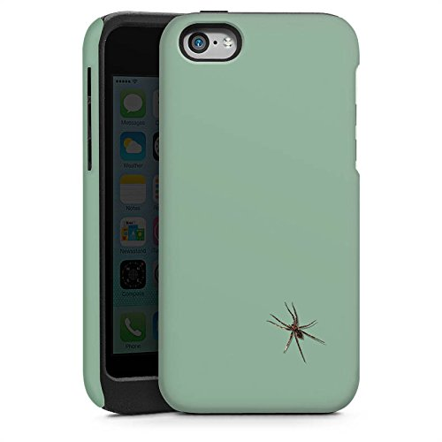 Apple iPhone 6 Housse Étui Silicone Coque Protection Araignée Insecte Araignée Cas Tough brillant