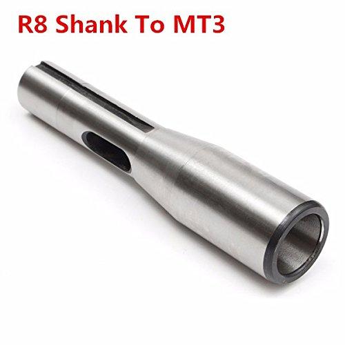 ChaRLes R8 Schaft Zu Mt3 R8 Bohrfutter Arbor Morse Taper Adapter Hülse Cnc-Werkzeug - Morse Taper Arbor