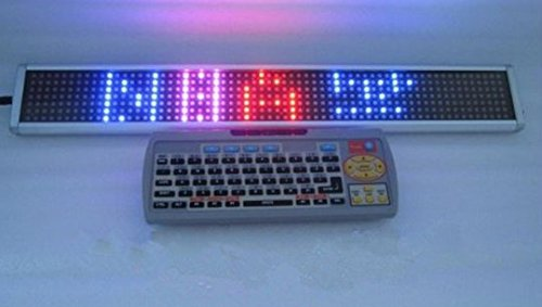 Gowe rbpink-3colors/LEDs/1/Remote Tastatur/Wireless/7* 64dots/SMD/Pitch: 7.62mm/Mini Fenster Shop Schild/Kein Schiff/7segment Signage/