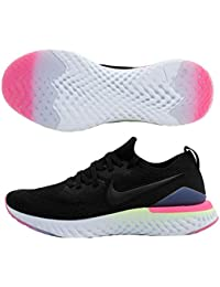 the best attitude 5bc9c 46c7d Nike Epic React Flyknit 2, Chaussures de Running Homme, Schwarz  Black-Sapphire-