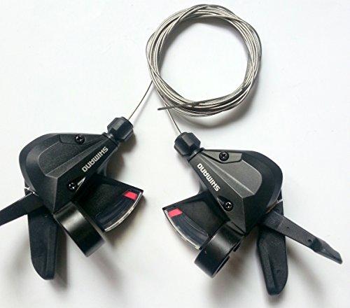 Shimano Schalthebel SL-M310 3x8 Set 24 Gänge inkl. Schaltzüge schwarz Altus