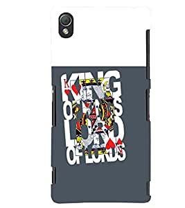 printtech Kings Back Case Cover for Sony Xperia Z3+::Sony Xperia Z3 Plus