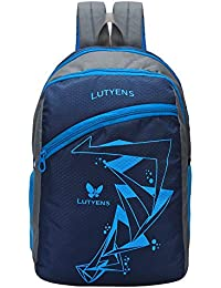 ab27882180de Lutyens 26 LTR Blue School Bag with Laptop Pocket (Lutyens 501)