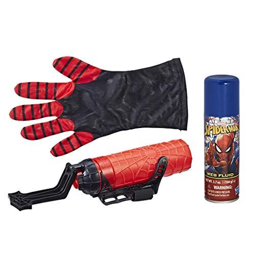 Spider-Man Miles Morales Mega Blast Web Shooter mit Handschuh, zum Abfeuern von ()