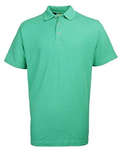 Rty Herren Poloshirt Smaragdgrün