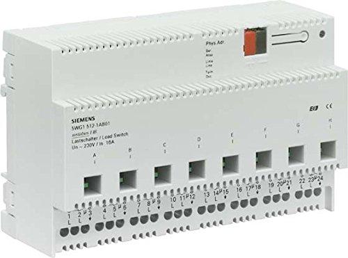 Siemens instabus eib - Interruptor n512 8 contactos libres potencia 16