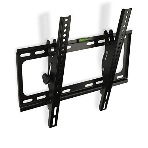minify CZ55T - TV Wandhalterung neigbar bis VESA 400x400 für 32 40 55 Zoll Fernseher Halterung Halter