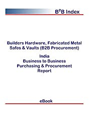 Builders Hardware, Fabricated Metal Safes & Vaults (B2B Procurement) in India: B2B Purchasing + Procurement Values
