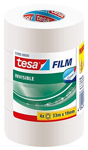 tesa Sparpack matt-unsichtbar 3+1 gratis 4x 33m:19mm - 4 Matt