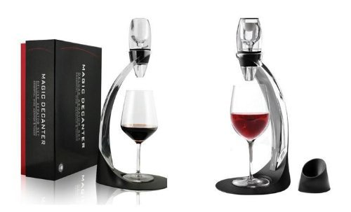 Nevsetpo Deluxe Magio Decanter Red Wine Aerator Stand Oxygenator Flavour Bouquet Enhancer