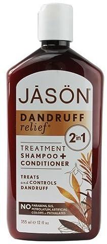 Shampoo und Conditioner 2in1 Anti Shuppen Jason Natural 355 ml (Avalon Organics Feuchtigkeits Shampoo)