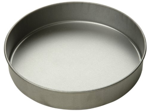 Focus Foodservice Commercial Bakeware 9 by 2-Inch Round Cake Pan by Focus Foodservice (2in Cake Round Pan)