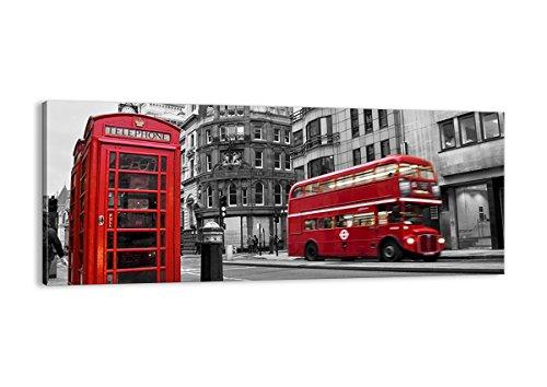 Cuadro sobre lienzo - de una sola pieza - Impresión en lienzo - Ancho: 100cm, Altura: 40cm - Foto número 2674 - listo para colgar - en un marco - AB100x40-2674