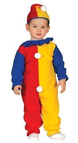 en Jungen Clown Cutie mit Hut Zirkus Karneval Kostüm Kleid Outfit 6-24 Months - 12-24 Monate ()