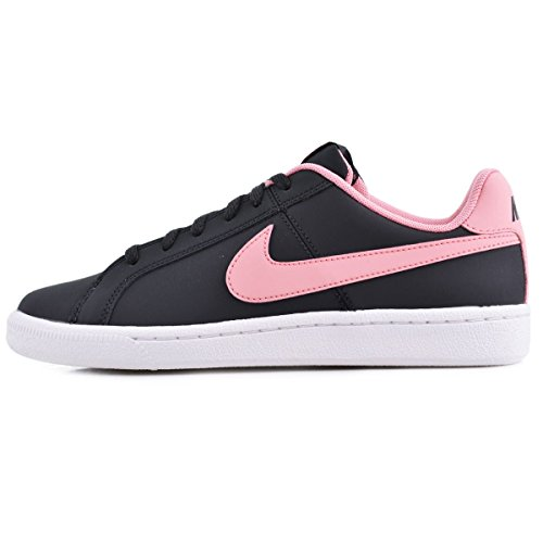 Nike Youths Court Royale Leather Trainers Black