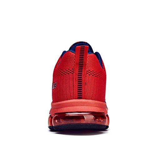 LFEU - Basse Uomo bleu foncé rouge