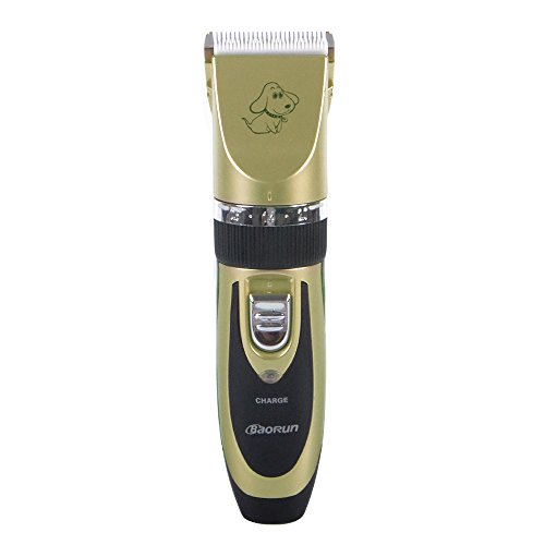 Reelva-Rechargeable-Cordless-Pet-Grooming-Clippers-Professional-Pet-Hair-Clippers-Detachable-Blade-with-4-Comb-Guides-for-Small-Medium-Large-Dogs-Cats-and-Other-House-AnimalsPet-Grooming-Kit