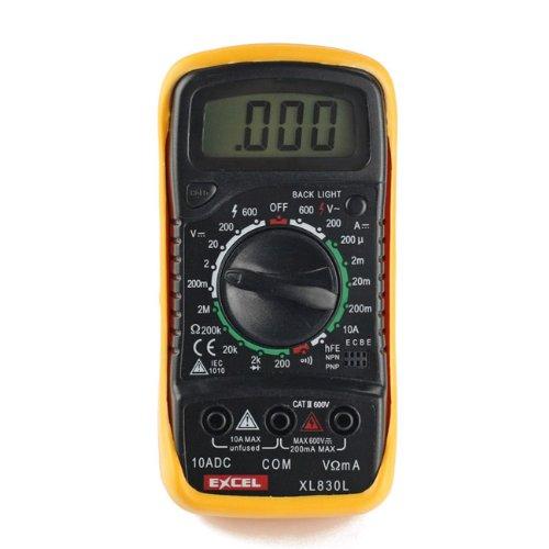 Excel XL830L, LCD Digital Multimeter