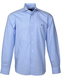 166012 Bots & Bots Exclusive Collection - Chemise Homme Coton Col Italien Normal Fit