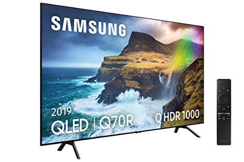 """Samsung QLED 4K 2019 55Q70R - Smart TV de 55"""" con Resolución 4K UHD, Direct Full Array, Q HDR 1000, Inteligencia Artificial 4K, One Remote Control, Apps exclusivas y Compatible con Alexa"""