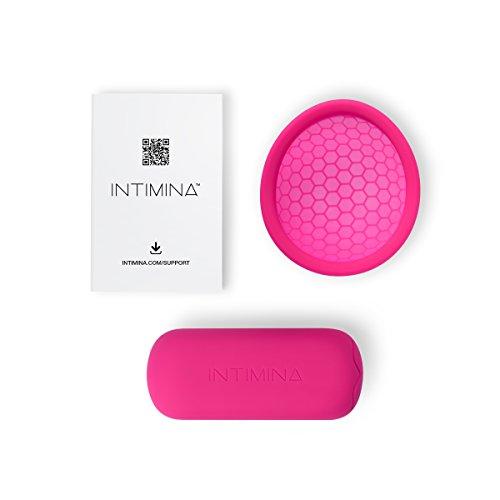 Intimina Ziggy Cup - Extra-dünne wiederverwendbare Menstruationstasse mit flacher Passform - 5