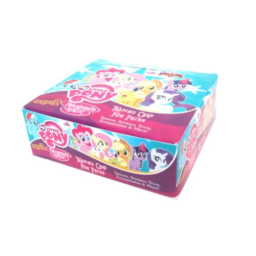 My Little Pony: Series 2 Trading Card Fun Pak Display (30)