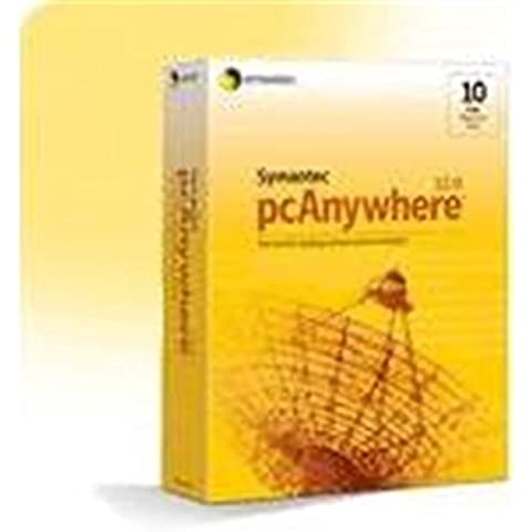 Symantec pcAnywhere Host 12 - Software de acceso remoto (ENG, 35 MB, 128 MB, 233MHz, Windows XP Home Edition/XP Professional/2000 Pro/2000 Server/NT 4/ME/98, Windows Server 2003)