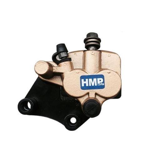 HMParts Pocket Bike / Dirt Bike Bremssattel mit Bremsbeläge T11 (Bike Dirt Bremsbeläge)