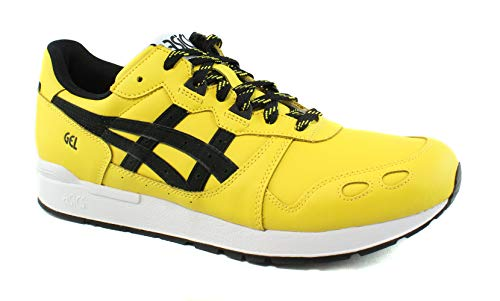 asics amarillas casual