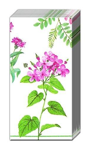 2-packs-of-ihr-floral-flowers-paper-pocket-handbag-tissues-rhapsody-white-rose-by-ihr