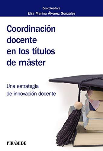 Coordinación docente en los títulos de máster (Biblioteca Universitaria)