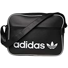 53473d64d9 adidas DH1002, Tracolla Unisex-Adulto, Nero (Negro), 24x15x45 Centimeters (