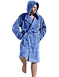 1f5cdb30da L L Company Gents Luxury Soft Hooded Warm Bathrobe Dressing Gown Robe for  Men Size S M L XL