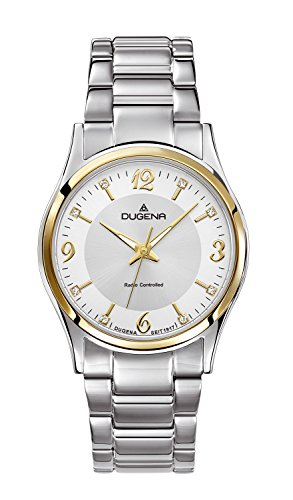 Dugena Women's Funk Quartz Watch with Silver Dial Analogue Display and Silver Stainless Steel Bracelet