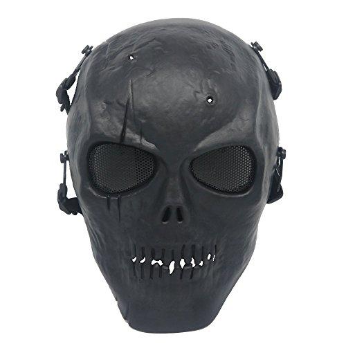 Ecloud Shop Schädel Maske Maske Schutz Gesicht Maske Schild ()