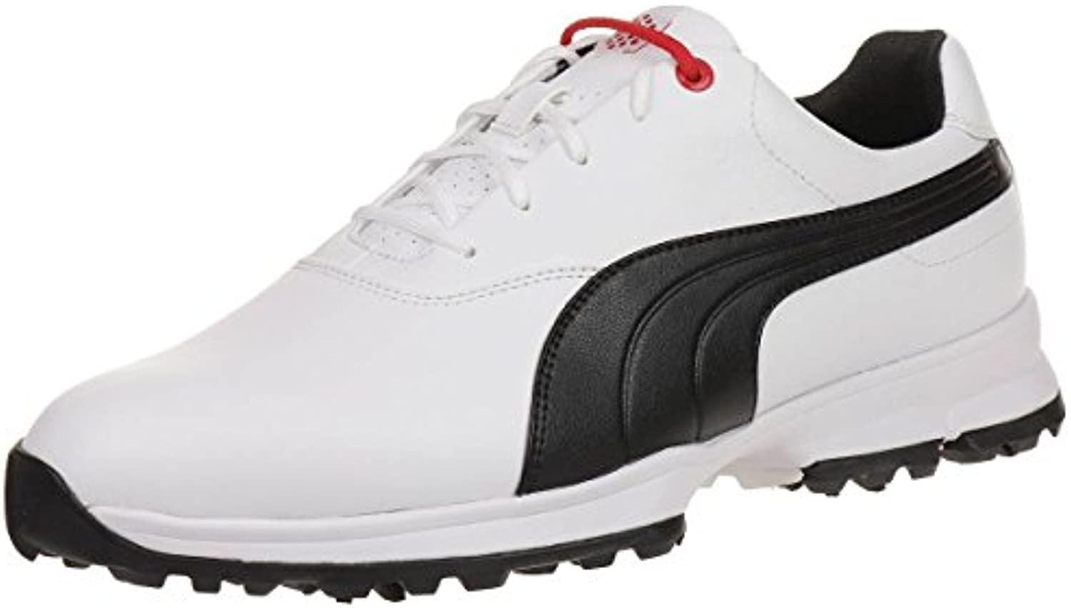 Puma Golf Ace Leather Men Golfschuhe Golf 188658 01 white, tamaño de zapato:EUR 40