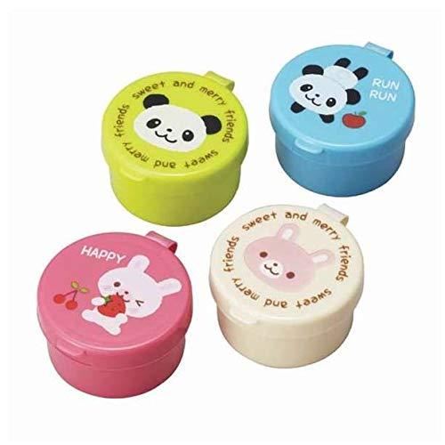 Panda Hase Mini Soßen Behälter für Bento Box Lunch Box (Dip-behälter, Lunch-box)