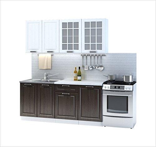 Cucina prague 180 cm cucina componibile da incasso