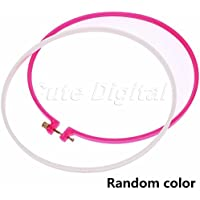 Wrone (TM) anello colorato punto croce macchina da ricamo cerchio anello tondo Loop di plastica Ago mano mestiere di DIY cucito bamb¨´ 12cm / 4.72